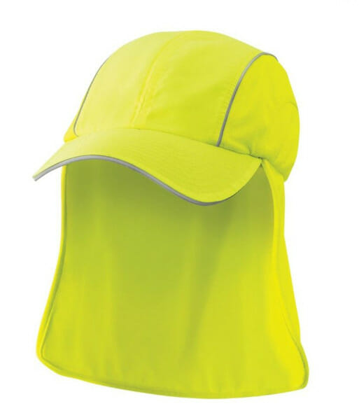 4371 side front hi vis yellow