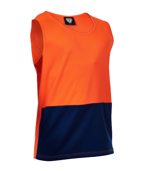PCS1410 Orange Navy Side Front