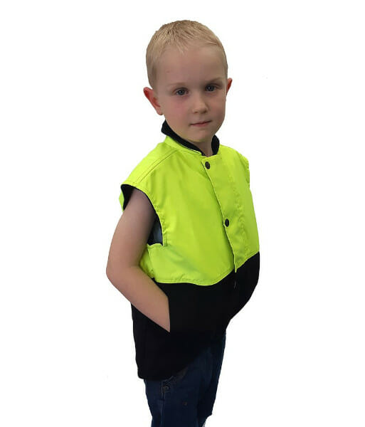 PCO1320 Yellow Brown Side Front Child
