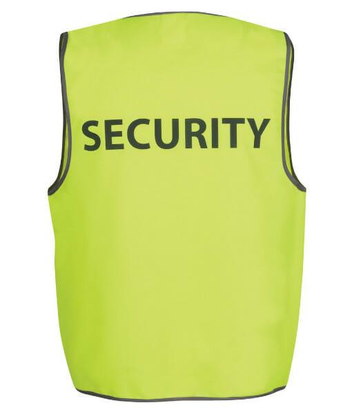 6HVS5 security lime back
