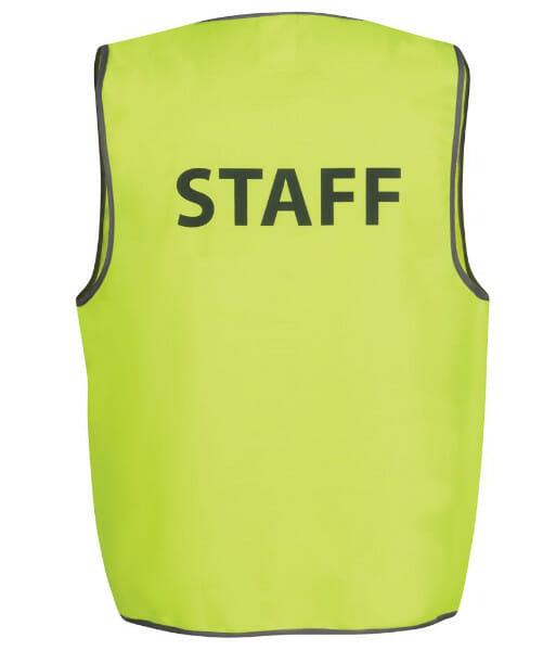 6HVS6 staff lime back