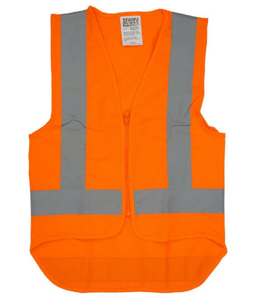 VESHIVISO childrens orange front