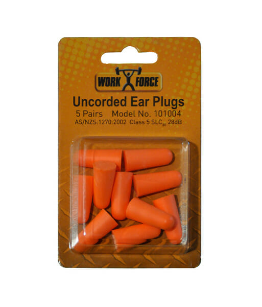 101004 uncorded ear plugs front