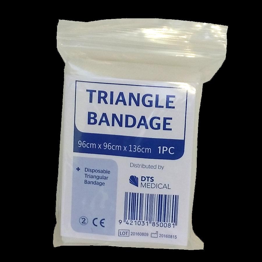 MB027 triangle bandage disposable no pins