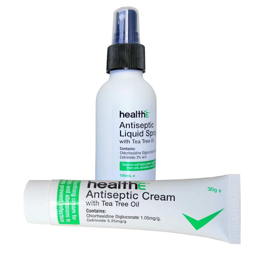 MCR004 & MA001S antiseptic cream & antiseptic spray 100ml