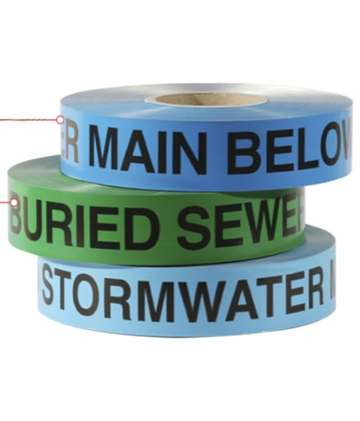 SI-DF sewer storm water tape