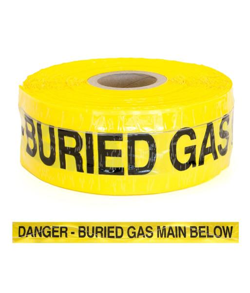 SI-DW50-GAS danger buried gas main below