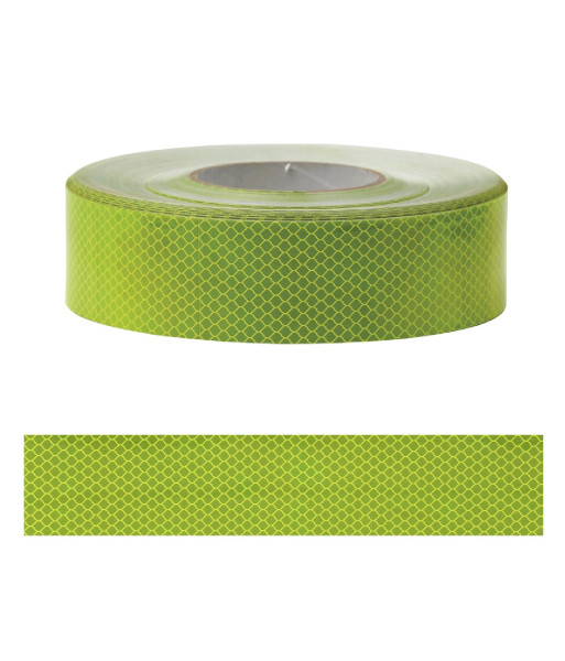 SI-RT-FL fluoro lime conspicuity tape